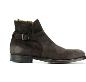 Mens Officine Creative Tempus Boots, Brown Size 8 And A Half, Brand New With Box