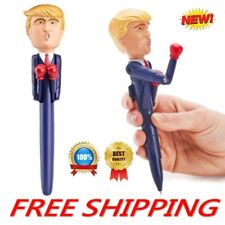 Hanvache Donald Trump Stress Relief Talking Boxing Pen Funny Toy for Pranks and