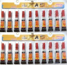 20 Tubes of  Super Glue - 'Cyanoacrylate Adhesive'   USA SELLER