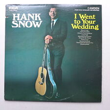 LP/ Hank Snow - I went to your wedding / 1969 US