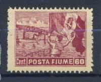 Fiume 1919 Sass. 55 Nuovo * 100% 60 c.