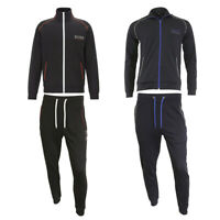Hugo Boss Men's Athletic Sport Tracksuit Zip Up Jacket and Pants Set