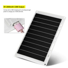 5V 10W 2000mAh USB Solar Panel Phone Mobile Power Charger Outdoor Charging Board