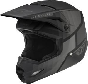 New 2022 Fly Racing Kinetic Drift MX/ATV Helmet - Matte Black - All ADULT Sizes