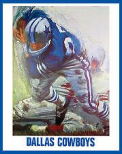 Dallas Cowboys 1960's Artistic Poster - 8x10 Color Photo