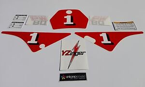 PW80 PW 80 Pee wee yzinger decal stickers graphics adesivi aufkleber