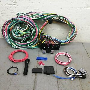 1958 - 1964 Chevrolet Full Size Wire Harness Upgrade Kit fits painless terminal