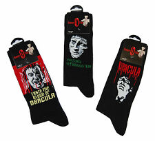 Mens Hammer House of Horror Socks 3 PAIRS Novelty Fathers Day Birthday Gift