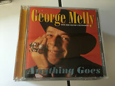 George Melly : Anything Goes CD (2008) 5016073711229 MINT/NRMINT PULSE LABEL