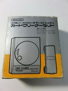 CARD CLEANER SET FAMICOM DISK SYSTEM JPN (COMPLET - VERY GOOD CONDITION OVERALL)