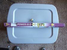 "NEW GLO Power-Glo T8 20-Watt 24"" Aquarium Fluorescent Light Bulb Lamp"