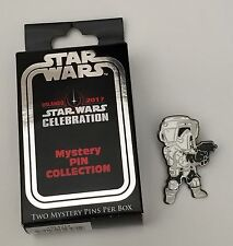 Star Wars Celebration Orlando 2017 Exclusive Blind Box Pin Badge Biker Scout
