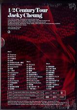 Jacky Cheung: 1/2 Century Tour (2013) /  3DVD & 40p BOOK TAIWAN