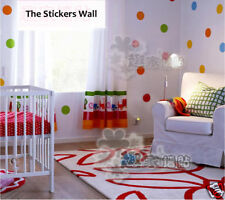 64 POLKA DOTS Wall Stickers Vinyl Art Decals