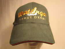 Men's Cap WATONGA TROUT DERBY (Oklahoma) Size: Adjustable [Z164b]