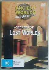 Ancient Worlds Brought to Life: Secrets of Lost Worlds DVD Region 4 Aust