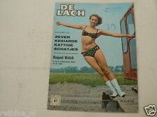 DE LACH 1966-41 RAQUEL WELCH,PATRICIA VTERBO,ANNE BAXTER,FLEURTJE,GRACE KELLY,
