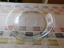 "Vtg Glasbake Clear Glass 9"" Pie Plate Dish Textured Bottom J2407 GUC"