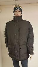 Authentic Woolrich Men's Dark Wood Langhorne Parka Jacket 550 Fill Down 16106