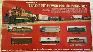 WALTHERS HO Trainline Power Pro Train Set - BNSF