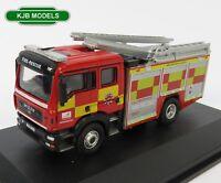 BNIB OO GAUGE OXFORD 1:76 76MFE005 MAN Pump Ladder Hertfordshire Fire & Rescue