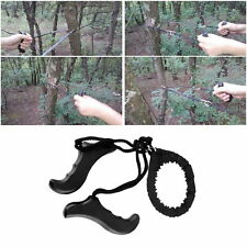Outdoor Emergency Survival chain Saw Sawing Pocket Plastic handle Tools LE