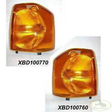 LAND ROVER FRONT TURN SIGNAL LAMP LIGHT SET x2 LH+RH DISCOVERY I ALLMAKES4x4