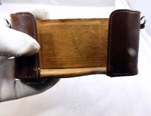 Leather Camera Case vintage lower part only rangefinder Metrawatt AG Nurnberg
