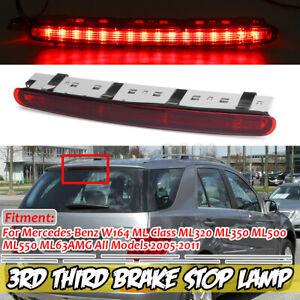Third 3rd Brake Stop Light A1648201056 For Mercedes W164 ML320 ML350 ML500 ML550