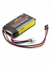 Spektrum LiFe Receiver and RCEXL Ignition Battery 900mAh 2S 6.6v SPMB900LFRX