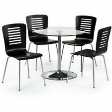 Julian Bowen Contemporary Glass Table & Chair Sets