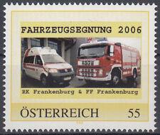 personalisierte Marke 8012465 Feuerwehr und Rotes Kreuz