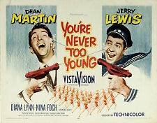 You're Never Too Young - 1955 - Dean Martin Jerry Lewis - Vintage Comedy DVD