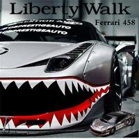 LBWK Liberty Walk 1:64 Scale Ferrari 458 USA Shark Resin Car Model Collection