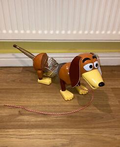 Disney Pixar Toy Story Slinky Dog Toy Figure Playset Pull Along String Children