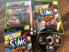 Sims Bustin' Out (Microsoft Xbox, 2003) Used Free US Shipping