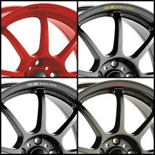 OZ RACING Rims Alloy Wheels Curved Decals Stickers Audi Vw Seat Bmw Peugeot Alfa