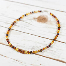 "Chain Amber 16 - 17.99"" Fine Necklaces & Pendants"