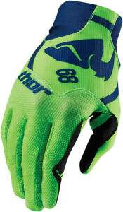 THOR VOID PLUS - Mens GASKET NAVY Gloves - MX / ATV