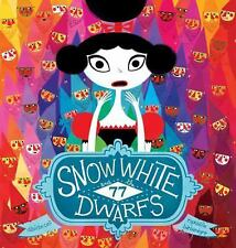 Snow White and the 77 Dwarfs Davide Cali 2015 Hardcover on the run from evil