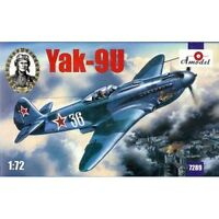 Amodel 7289 YAK-9U Soviet Fighter, 1/72 scale plastic model kit