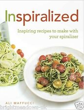 Inspiralized Spiralizer Diet Cook Book Healthy Eating Weight Loss Nutrition