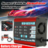 220V AC Vehicle Smart Charger 6V/12V Lead Acid Battery Desulfator Maintainer