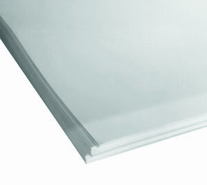 20 sheets, 700mmx500mm, WHITE CARD, 380gsm (505microns) 0.5mm thick.