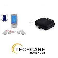 TechCare Pro 24 Modes Rechargeable Tens Unit Pulse Massager with Protective Case
