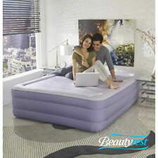 """Simmons Beautyrest Fusion Aire 18"""" Raised Queen Air Bed Mattress with Built-in P"""