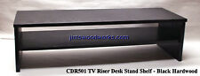 TV Riser Desk Stand w/Shelf MTO Ship in 4 Weeks 36L-14W Pic Color, Height