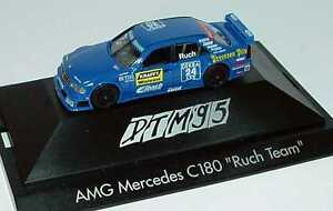 1:87 Mercedes-Benz C 180 DTM 1995 Ruch , Puissance Cylindres Nr.24, Ruch - Herpa
