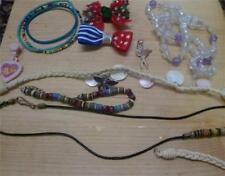 Vintage Estate Lot Girls Jewelry Pieces Repair Misc Bracelet Necklaces