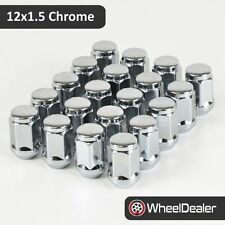 20 x Chrome Alloy Wheels Rim Nuts 12 x 1.5 to fit Holden VL VN VR VS VT VX VY VZ